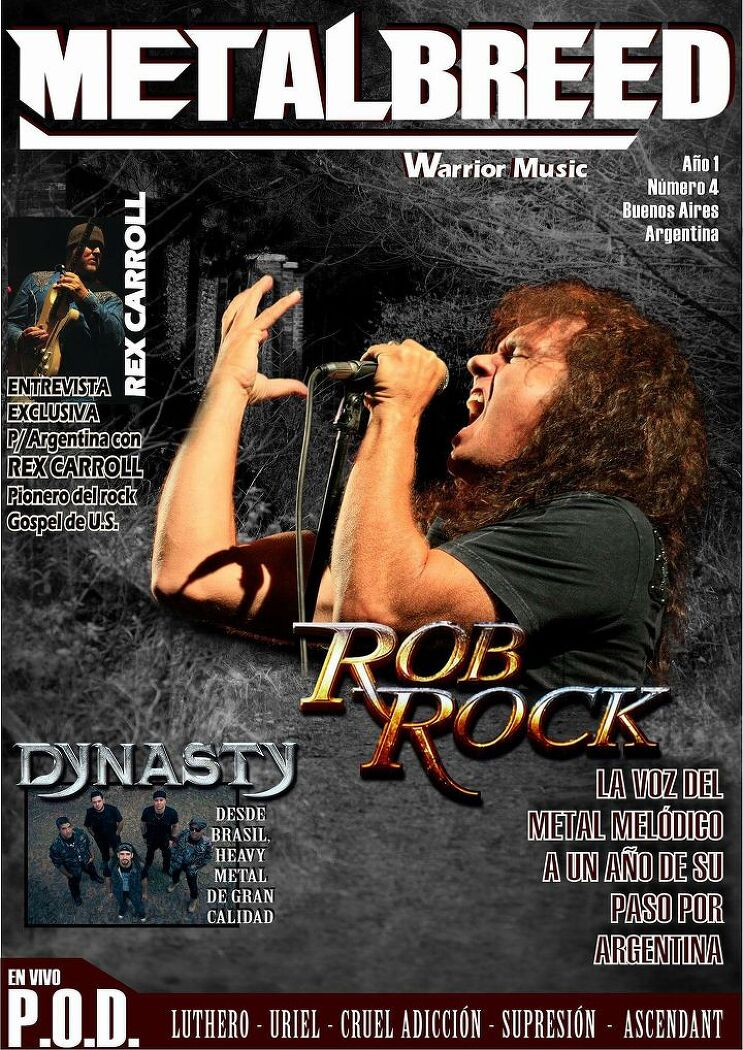 Interview with Rob Rock - MetalBreed Magazine (2017)