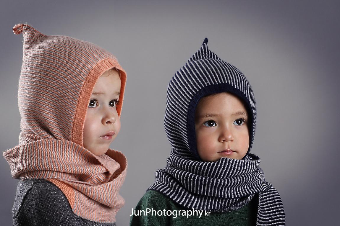 프랑스 유아동복 브랜드 아동모델 촬영