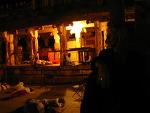 함피 - 오래된 사원 기둥에 생명을 부여한 쉬바라뜨리