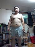 현재 몸상태 (2014년 7월 현재) - 88kg