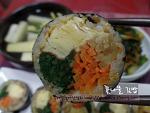 너무 맛있는 봄철별미김밥, 꽃나물 김밥~