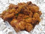 시장통닭도 퓨전이다! 서문닭집 '양념통닭+닭강정=양념강정' | 제주서문공설시장