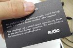 Sudio TVA, AS로 스웨덴 본사로부터 새제품을 받았습니다!!