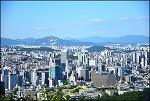 서울 N 남산 타워 밑에서