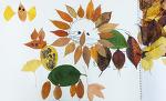 낙엽으로 동물 만들기 놀이