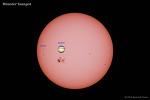 태양과 목성만한 흑점 (Sun & Monster Sunspot)
