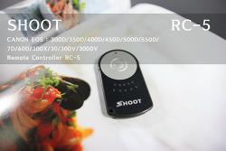 [CANON] 550D 무선 리모콘 RC-5