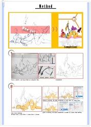 [Illust Course] 일러스트 강좌 _ 아라타마와 그림을 그립시다!!!
