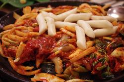 명동맛집 : 톡톡터지는 알쌈과 함께즐기는 매콤한 불낙지 불냉면