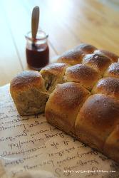 바쁜 아침에도 갓구운 빵을 즐길 수 있는  방법/ 저온숙성 모닝빵