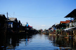 캄보디아여행의 필수코스, 톤레삽호수 수상가옥 투어