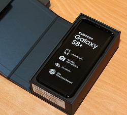 갤럭시S8 플러스 128기가 미드나잇블랙 개봉기