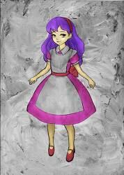 글레이징 채색 기법을 이용한 동화 일러스트 캐릭터 그리기. 이상한 나라의 앨리스.... Alice in Wonder land