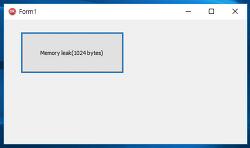 프로세스 메모리 사용량 로그 기록 - 성능 모니터 이용