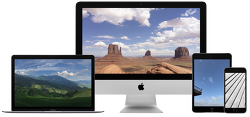 이번주 월페이퍼: 애플의 데모 포토 앱 이미지들