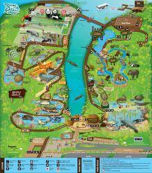 강이 주제인 동물원. 싱가포르 리버 사파리(River Safari)