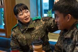 육군 훈련부사관이 맺어준 운명같은 사랑! 육군훈련소 러브스토리의 주인공은?