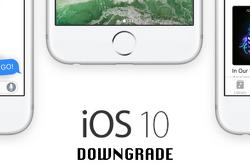 iOS 10 베타 버전에서 iOS 9.3.4 버전으로 다운그레이드 하는 방법