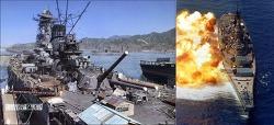 2차대전 최고의 전함 야마토 VS 아이오와 누가 이길까?