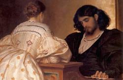 '프레드릭 레이튼'의 그림 속 아름다운 남자