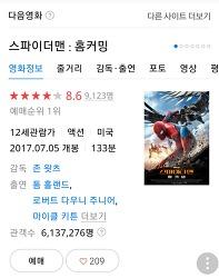 스파이더맨 홈커밍, CGV천호 스피어엑스관.