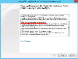 Manually Install Microsoft App Fabric Prerequisite for SharePoint 2013