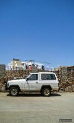 스페인 고산의 응급 구조