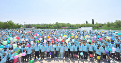 국제위러브유운동본부(장길자회장) - 제18회 새생명사랑 가족걷기대회