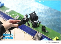 스킨스쿠버다이빙 할때 니콘 액션캠 촬영 - 키미션170 수중액션캠