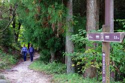나카센도 (中山道) 트레킹 셋 - 츠마고(妻籠)에서 마고메주쿠 (馬籠宿)