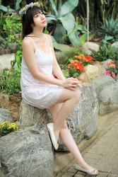 청순한 그녀 ... MODEL: 연다빈 (5-PICS)
