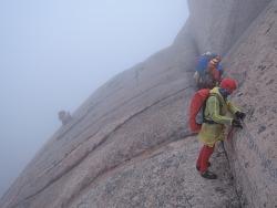 두번째 인수봉 등반