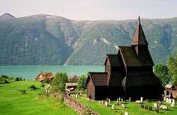 북유럽 최고(最古)의 소박한 목조 교회, 우르네스 목조 교회(Urnes Stave Church)