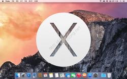 [맥기초] OS X 화면 구성