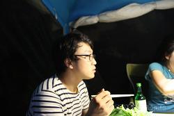 Friday 2nd August 2013 : 기회송림 유원지 캠핑
