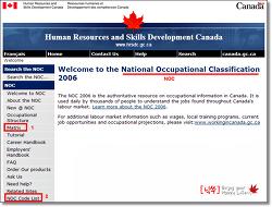 캐나다 LMO/취업비자/영주권 신청을 위한 NOC A,B,C,D 직군 번호 알아보기