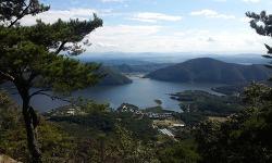경북 영천 기룡산 과 꼬깔산 산행 (기룡산 꼬깔산 등산지도)