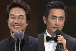 KBS SBS 연기대상, 차인표도 한석규도 국민으로 시국을 말했다