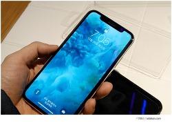 고릴라글래스 사용한 아이폰X 9H 강화유리 퍼펙트일체감! 테슬라102 보호필름