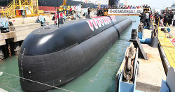 대우조선해양 인도네시아 잠수함 2번함도 성공적으로 인도