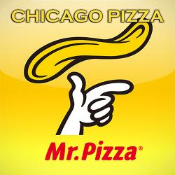모짜렐라 치즈듬뿍 딥디쉬 스타일 피자 |  미스터피자 시카고딥