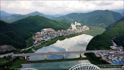 <단양>새로운 관광 명소 - 만천하스카이워크