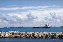 그림같은 부산항 Picturesque Busan Port.