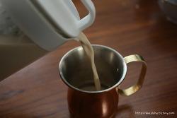 카페 진정성 냉침 밀크티 집에서 만들기
