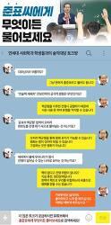 홍준표 대표, 연세대학교 사회학과 학생들과 1문 1답