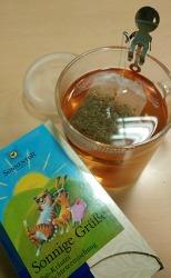 TEA 선물 - Sonnige Grüße® Tee bio Doppelkammerbeutel
