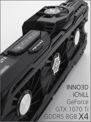INNO3D iChiLL 지포스 GTX 1070 Ti 8GB X4