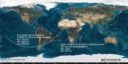 톈궁 1호(Tiangong-1)의 추락 예측 (업데이트)