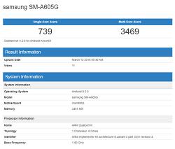 삼성 - 갤럭시 A6 / 갤럭시 A6 플러스, GeekBench에 포착