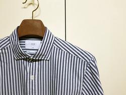 ANDZ지오지아 블루스트라이프 셔츠(BLX3WC1021)